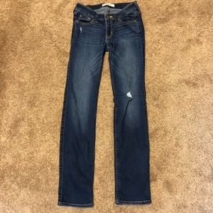 Dark Hollister Jeans with few rips